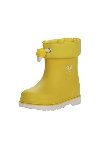 İgor Igor Yağmur Çizmesi Su Geçirmez  Sarı